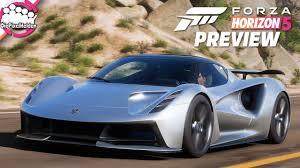 FORZA HORIZON 5 - sehr leise, aber verdammt schnell: Lotus Evija - Forza  Horizon 5 Preview - YouTube
