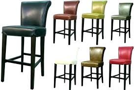 leather counter height stools gray grey backless genuine bar real australia leather counter height bar stools