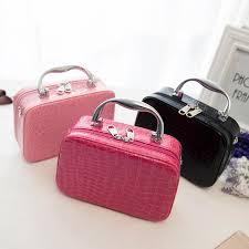 pro makeup train storage bag case jewelry box cosmetic artist organizer