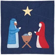 Nativity Quilt Pattern SCN-1009 (advanced beginner, wall hanging) & Nativity Quilt Pattern SCN-1009 Adamdwight.com