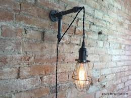 edison sconce industrial furniture bulb