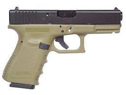 glock 19 gen 3 od green sku pi1957203