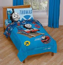 thomas train railroad crossing toddler bed set tank engine comforter sheets