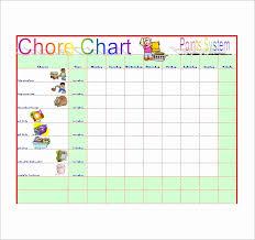 Pdf Chore Chart Template 30 Free Chore Chart Template Tate Publishing News