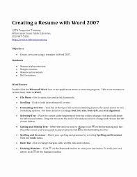 Basic Sample Resume Basic Sample Of Resume Inspirational Resume Template Download Make 87