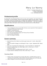 Write A Resume For A Nanny Job Step Save How To Write A Resume For A
