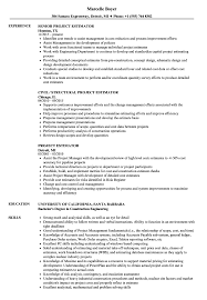 Construction Estimator Resume Sample Project Estimator Resume Samples Velvet Jobs 14