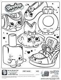 Free Shopkin Coloring Pages Tiva