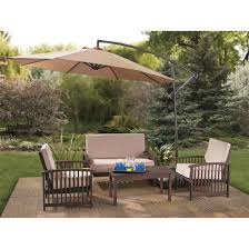 castlecreek 10 cantilever patio umbrella khaki