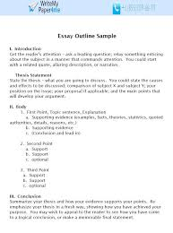Essay Outline Examples And Tips You Can Use To Write A