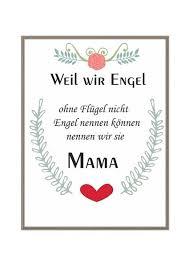 Kunstdruck Bild Spruch Mama Von Milalu Auf Dawandacom