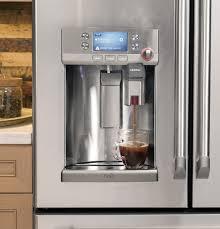 refrigerator with keurig coffee maker. Ft French Door Refrigerator With Keurig Brewing System Silver Best Buy In Coffee Maker