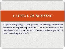 Capital Budgeting Authorstream