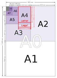 A <b>Paper Sizes</b> - A0, A1, A2, A3, A4, <b>A5</b>, A6, A7, A8, A9, A10