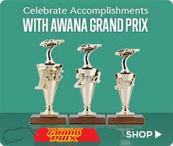 Awana Certificate Of Award Celebrate Accomplishments With Awana Grand Prix Awards Shop Trophy
