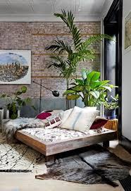 exposed brick bedroom design ideas. Brick Wall \u0026 Greenery Exposed Bedroom Design Ideas