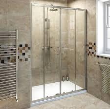 bathroom appealing frameless sliding shower door design smoothing in bathroom sliding glass door