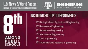 Texas A&M Engineering ranked in top 10 in latest U.S. News rankings ...