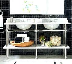 home improvement double console sink inch apothecary simple elite high temperature apothecar