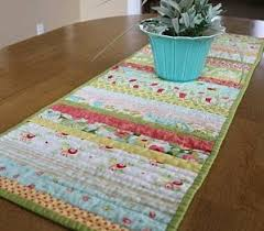 Quilted Table Runner | Table runner pattern, Dining room table and ... & Learn how to make a quilted table runner for your dining room table with  this free Adamdwight.com