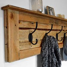 Rustic Coat Rack With Shelf Shop Pallet Racks on Wanelo 21