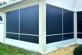 outdoor patio screens. Retractable Privacy Screens Outdoor Screen Patio Large Size Of .
