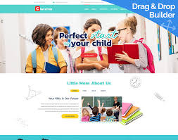 Kids School Website Template Kids School Website Template Motocms