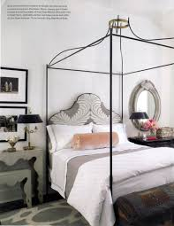 Tara Shaw Maison Iron Venetian Canopy Bed With Uph Bed With Desk And ...