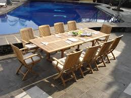 Maintenance Teak Patio Table  Boundless Table IdeasIs Teak Good For Outdoor Furniture