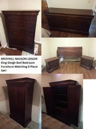 Matching Bedroom Furniture Find More Broyhill Maison Lenoir King Sleigh Bed Bedroom Furniture