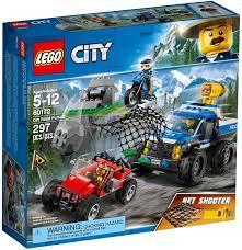 Đồ chơi lắp ráp LEGO City 60172 - Xe Tải Bắn Lưới của Cảnh Sát (LEGO City  60172 Dirt Road Pursuit) giá rẻ tại cửa hàng LegoHouse.vn LEGO Việt Nam