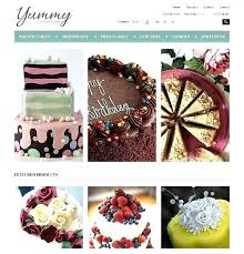 Bakery Website Template Cakes And Templates Ringrepairco
