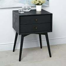 white mid century nightstand. White Mid Century Nightstand Photo - 1 R