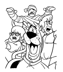 Small Picture Image Gallery of Cute Mummy Coloring Pages