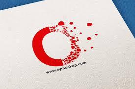 Free Logo Mockup Clean Paper Free Logo Mockup Free Psd Mockup