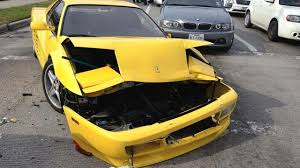 2018 ferrari testarossa. fine ferrari latest car accident of ferrari testarossa  road crash compilation  traffic 2016 2017 2018 in 2018 ferrari testarossa f