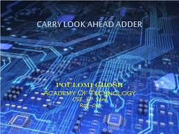 Digital Circuits And Design By Salivahanan Ppt Ppt Carry Look Ahead Adder Powerpoint Presentation Id 250442