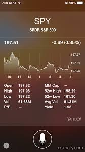 Siri Stock Quote 27 Amazing Get Stock Market Details From Siri On IPhone IPad IPod Touch