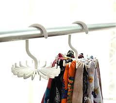 closet tie rack organizers 2019 tie rack belt holders tie racks organizer hanger closet 20 closet