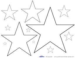 printable star star shapes to print give the best coloring pages gif page