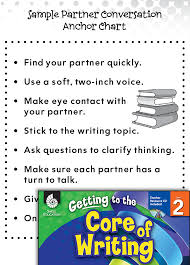 Writing Lesson Turn And Talk Level 2