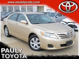 Pre-Owned 2010 Toyota Camry LE 4D Sedan in Crystal Lake #28996A ...