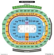 Tacoma Dome Seating Chart With Rows The Awesome And Also Gorgeous Red Wings Seating Chart