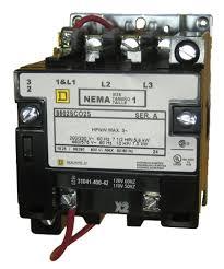 Square D Starter Heater Chart 8502sc02s