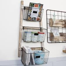 rustic wall mounted wire basket storage rack wire modular kitchen wall storage basket caddy wire basket wall mounted storage