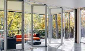 aluminum system lacantina aluminum folding glass doors