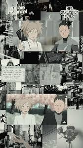 Temari and Shikamaru, aesthetic, anime ...