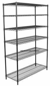 hot 6 tier commercial office storage heavy duty wire metal shelf shelving rack nsf