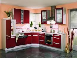 Red Kitchen Design Red Kitchen Cabinets Modern Kitchen Design Kitchen Design Ideas