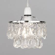 small elegant flower shaded easy fit light shade accessory